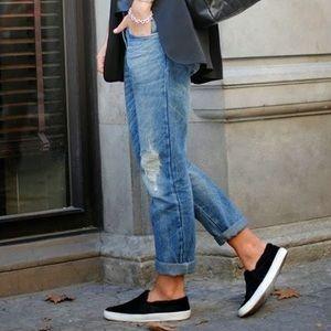 Black Slip on Sam Edelman Shoes 7.5